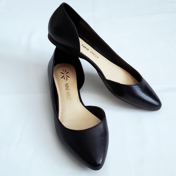 NINE WEST Womens Spruce Leather